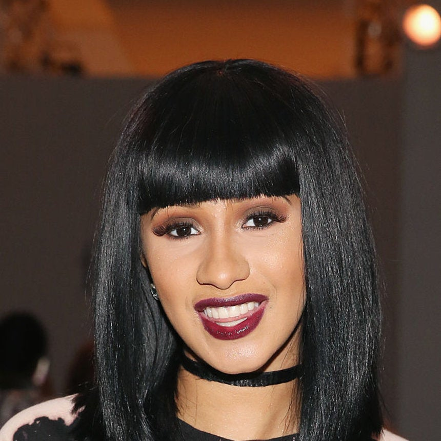 Cardi B Flaunts Natural Hair Essence