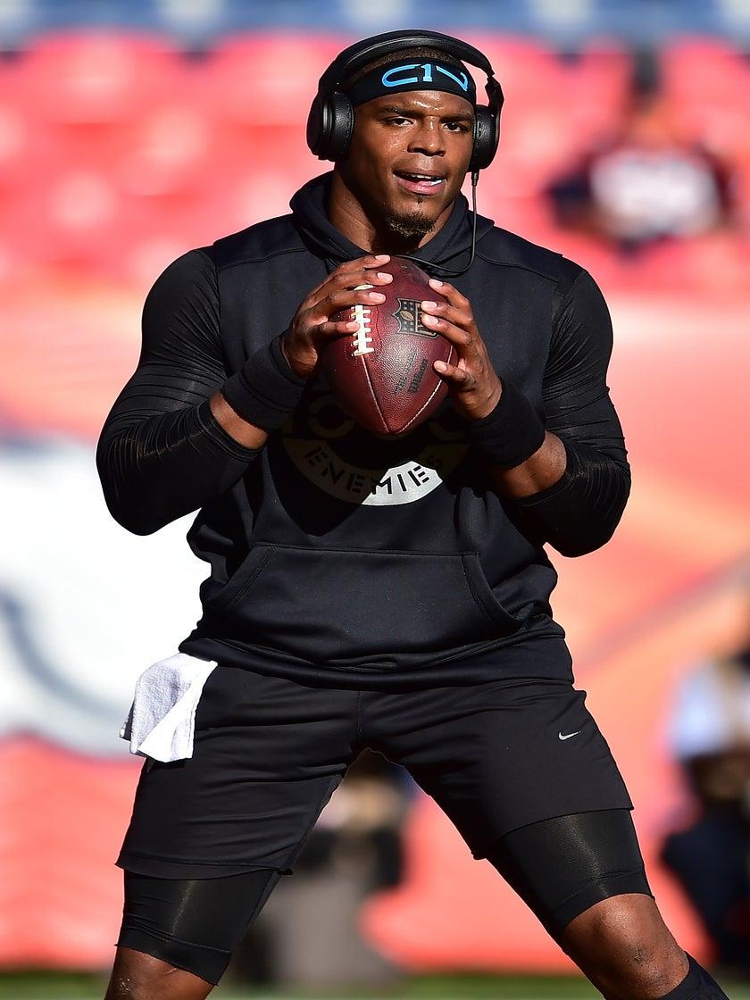 Woke Or Nah? Cam Newton Wears MLK Shirt To Pre-Game Warm-Ups