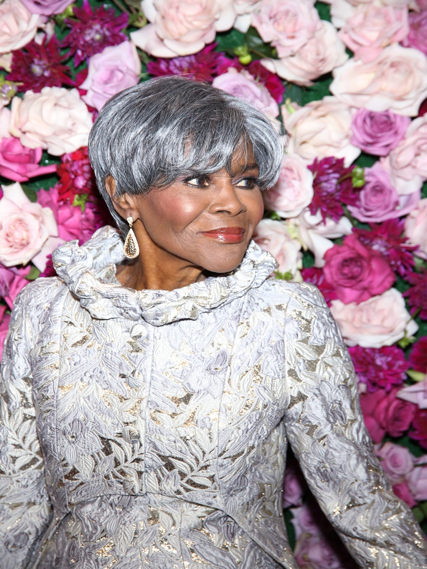 Look of the Day: Cicely Tyson Looks Like Royalty in Spectacular Silver Gown