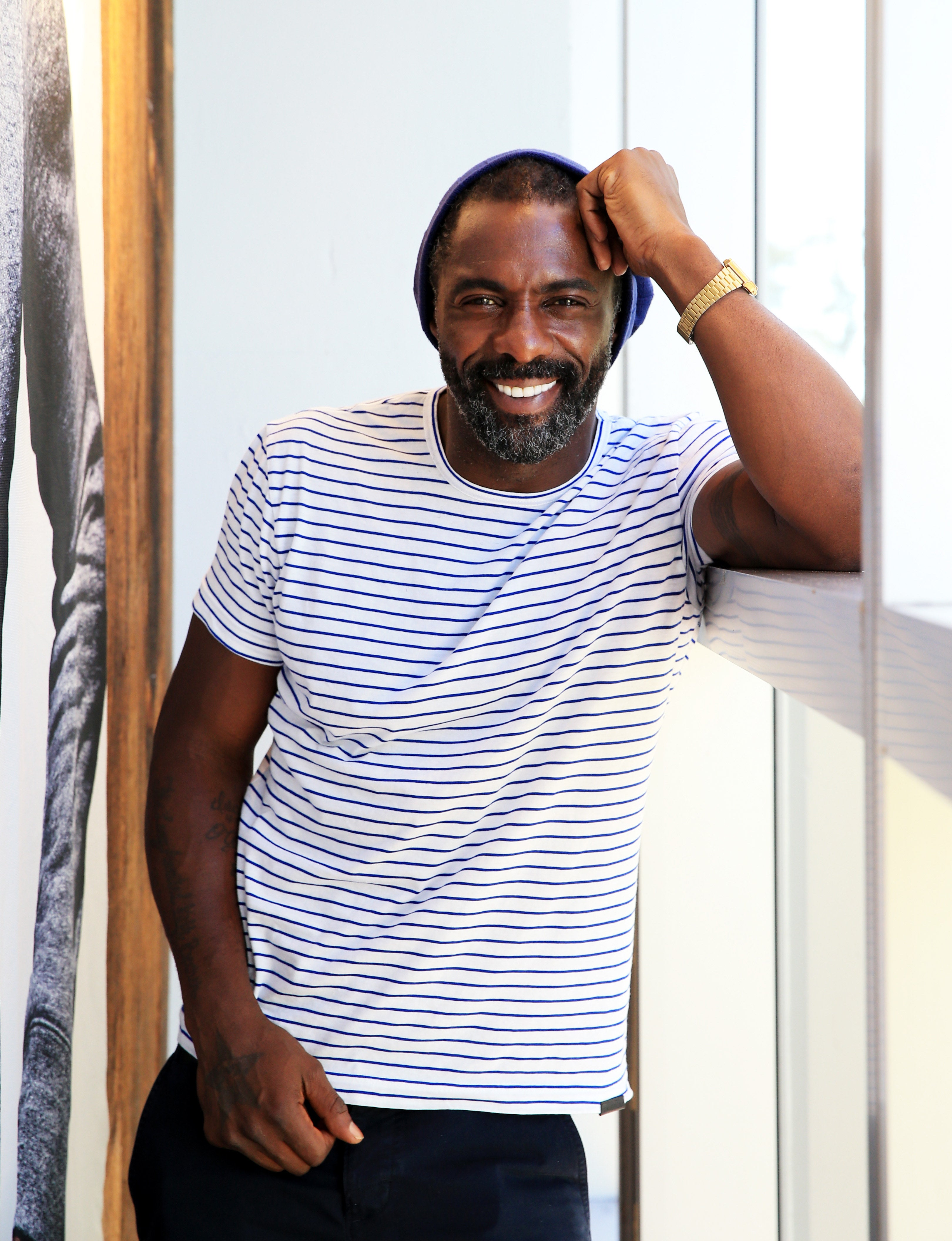 Idris Elba Posted the Cutest Holiday Message to His Fans