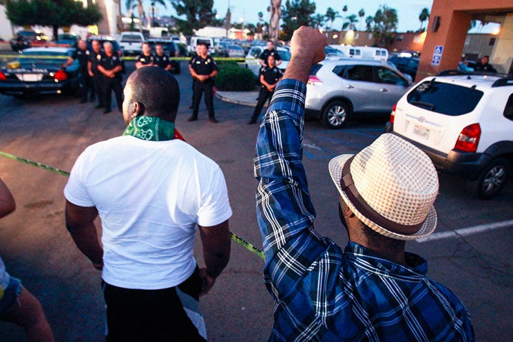 Protests Erupt Following Fatal Police Shooting Of Unarmed, Mentally Ill Black Man Alfred Olango