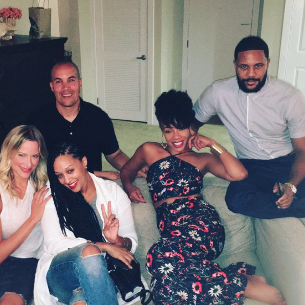The Original Cast Of 'The Game' Just Had A Mini Reunion and We're Feeling Emotional About It
