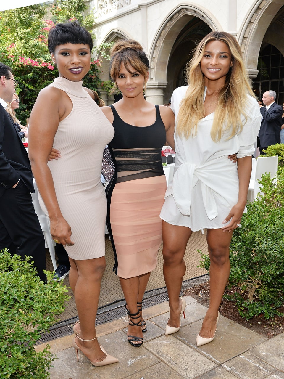 Look of the Day: Ciara, Halle Berry and Jennifer Hudson Deliver Three Times the Slay