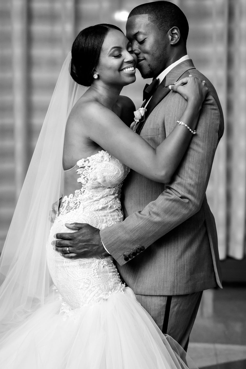Bridal Bliss: Elo and Lauren's Glam Wedding Will Stop You In Your Tracks