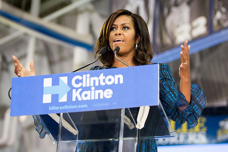 Michelle Obama On Donald Trump's Temper: 'We Need An Adult In The White House'