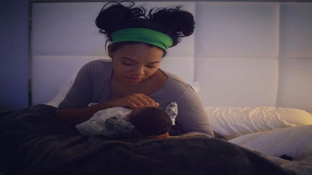 Angela Simmons Gives Birth To Baby Boy and Shares the Sweetest First Photo Ever!