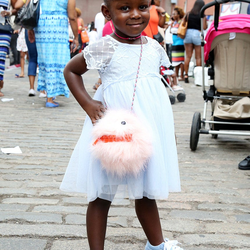 There Were So Many Stylish Kids at the ESSENCE Street Style Block Party