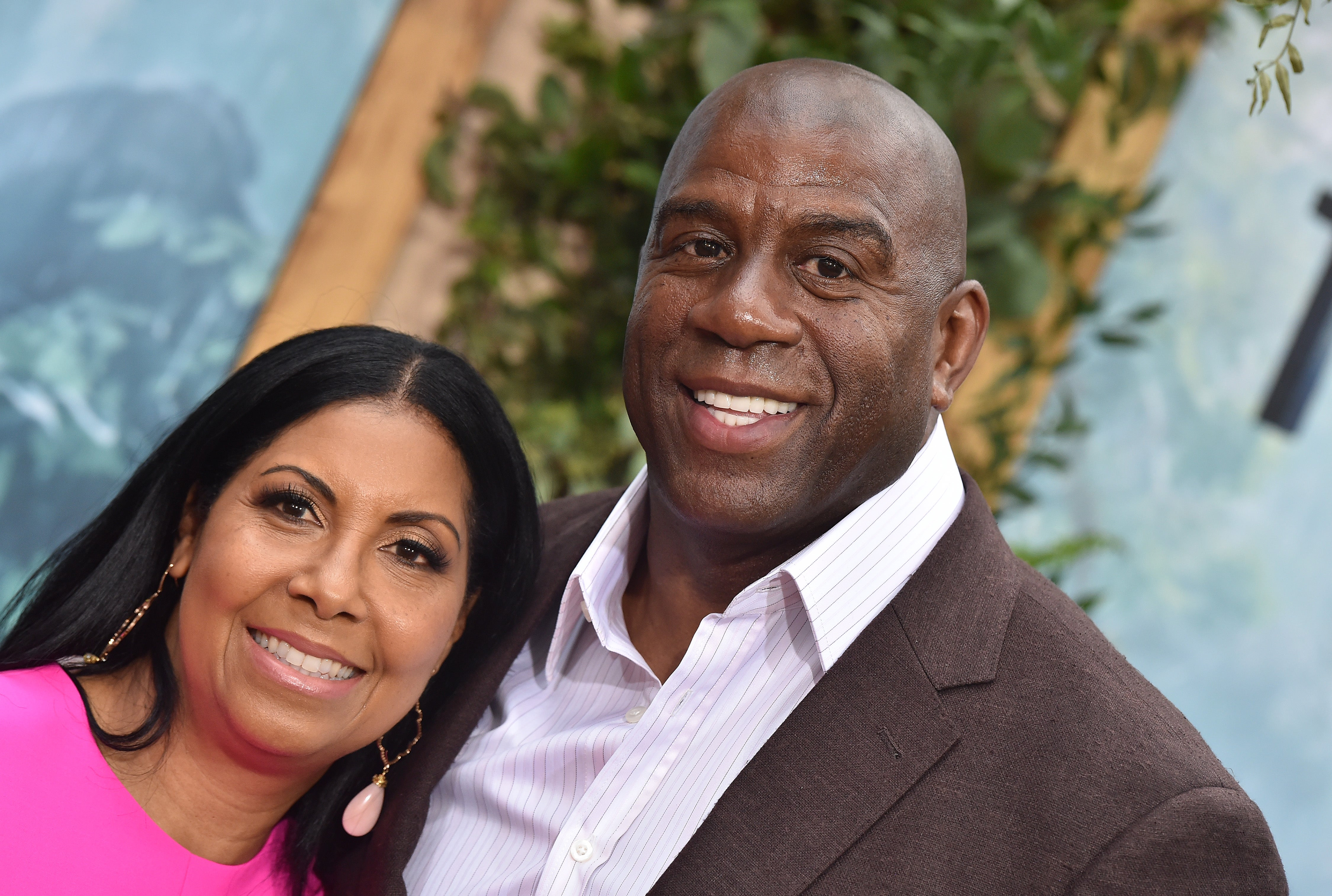 Magic Johnson and Wife Cookie Celebrate 25 Years of Marriage In a Big Way With All Of Their Couple Friends