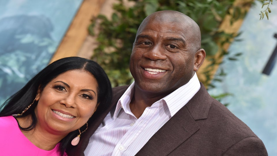 Magic Johnson Gave Wife Cookie a 25-Carat Diamond to Celebrate 25 Happy Years