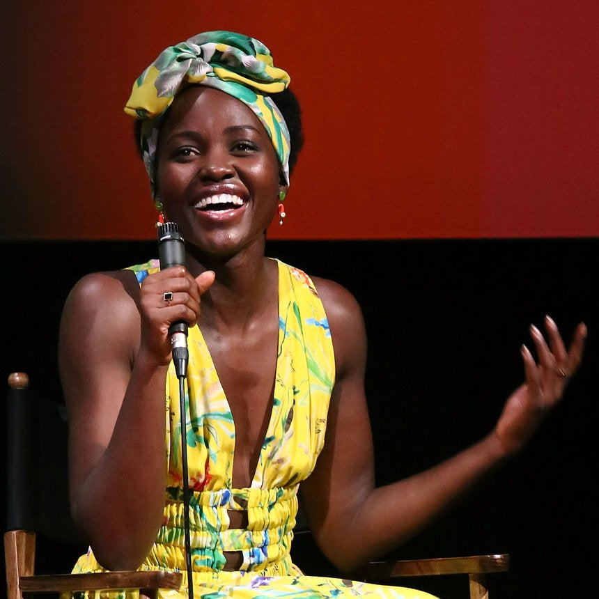 Lupita Nyong'o Takes A Break From 'Black Panther' To TryThe #GetOutChallenge