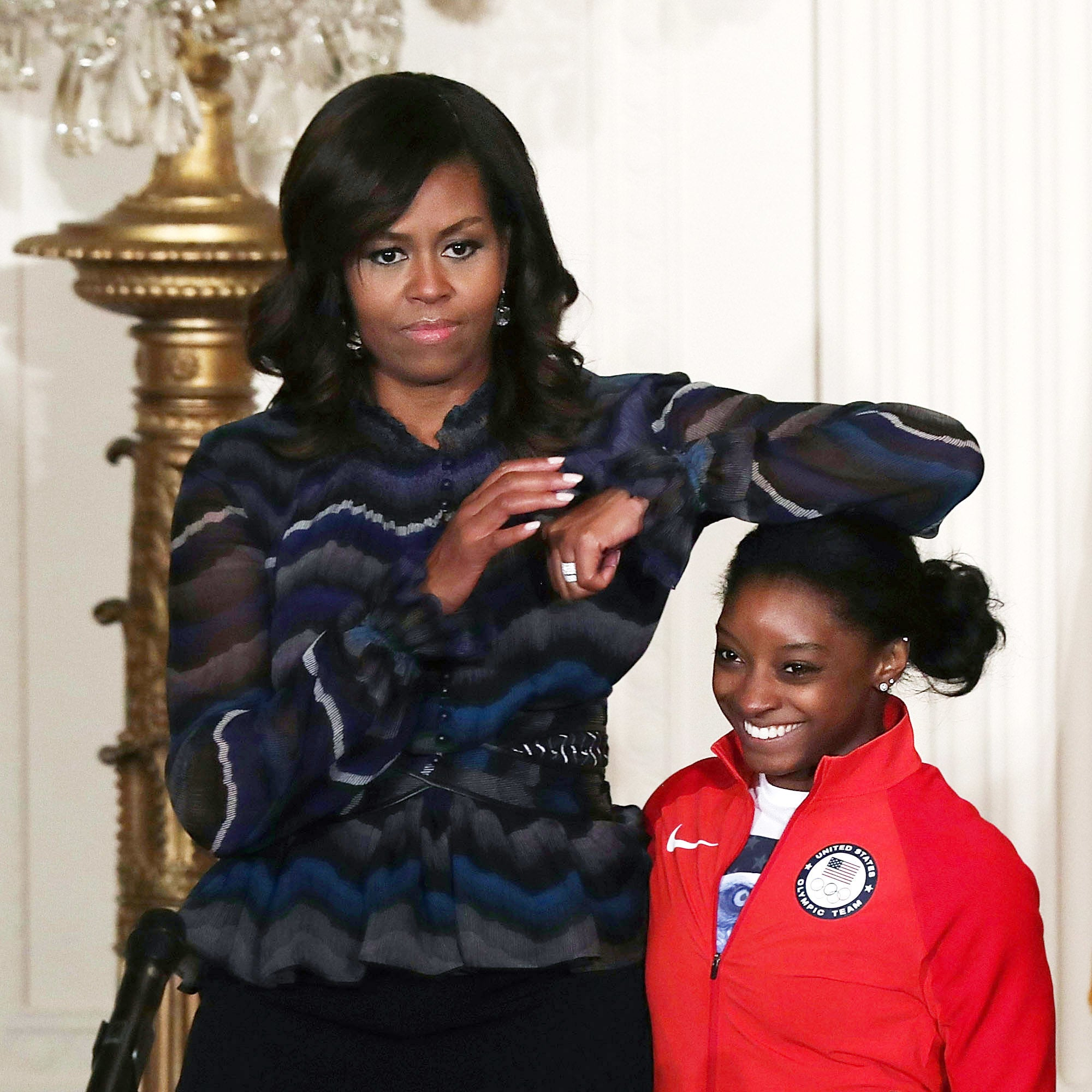 These Pictures From Team USA's White House Reception Are Adorable