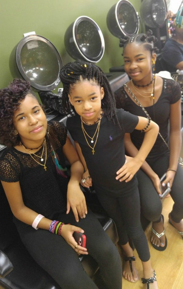 Atlanta Sisters Show Off Their Natural Back To School Hair Styles