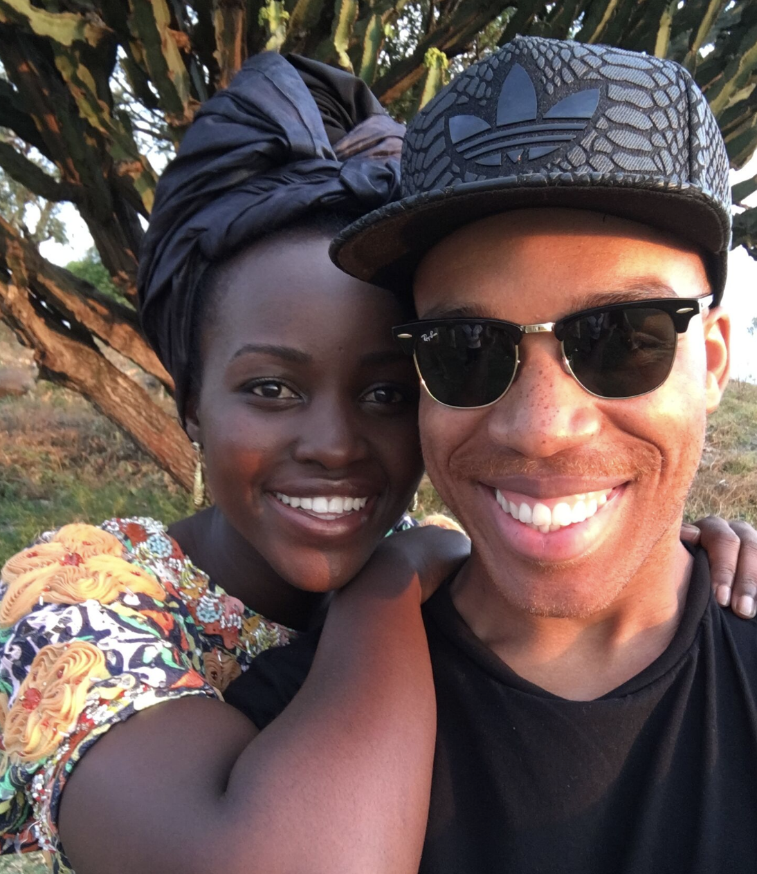 Lupita Nyong'o's Hairstylist Reveals The Story Behind Her Regal Headwraps For Vogue Cover Shoot