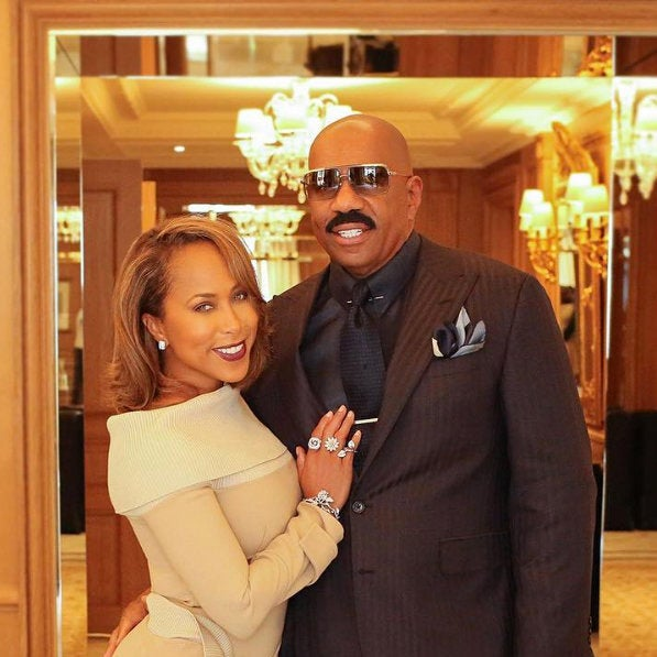 Steve Harvey: 'I Won't Be At Anybody's Inauguration Because My Wife Said No'