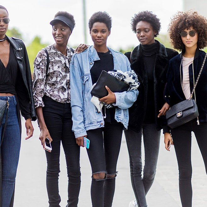Beautiful Black People Serving Effortless StyleDuring Paris Fashion Week