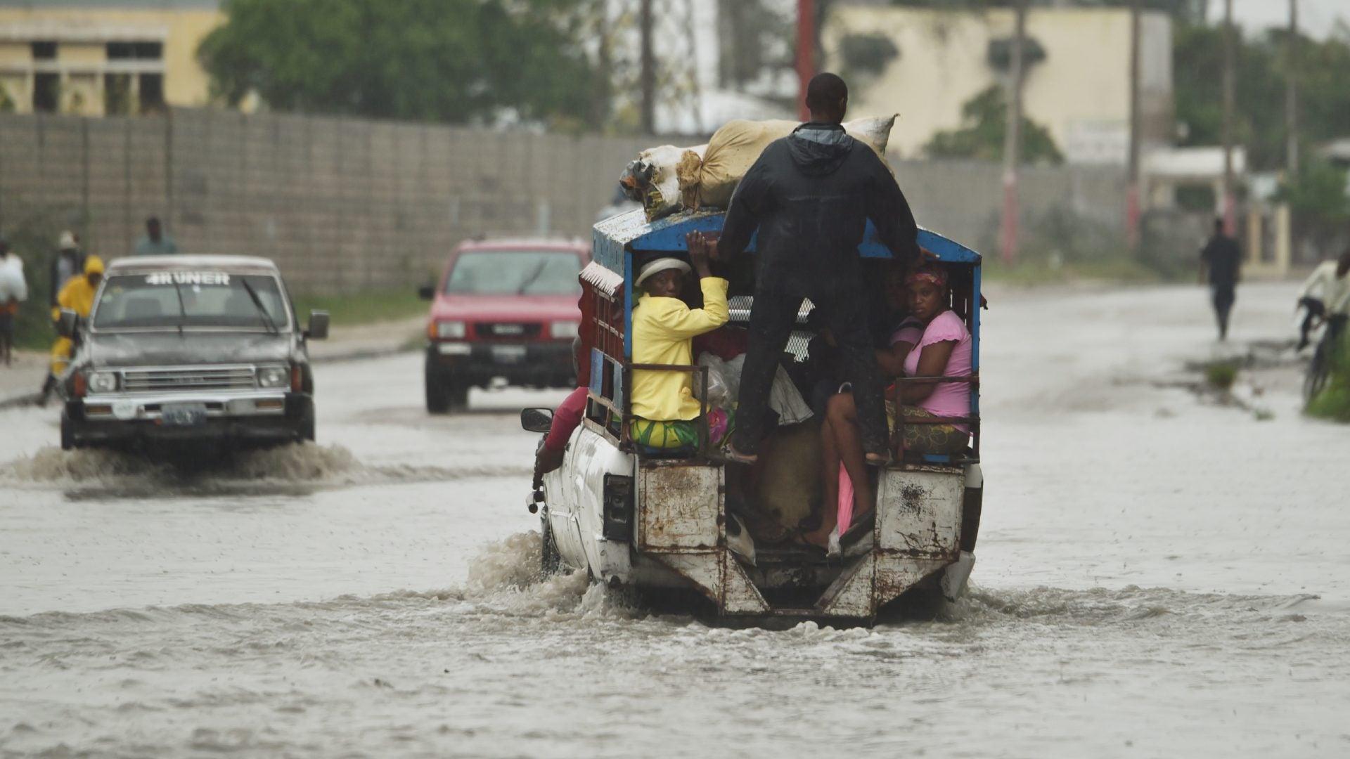 Humanitarian Disaster Feared As Hurricane Matthew Makes Landfall In Haiti