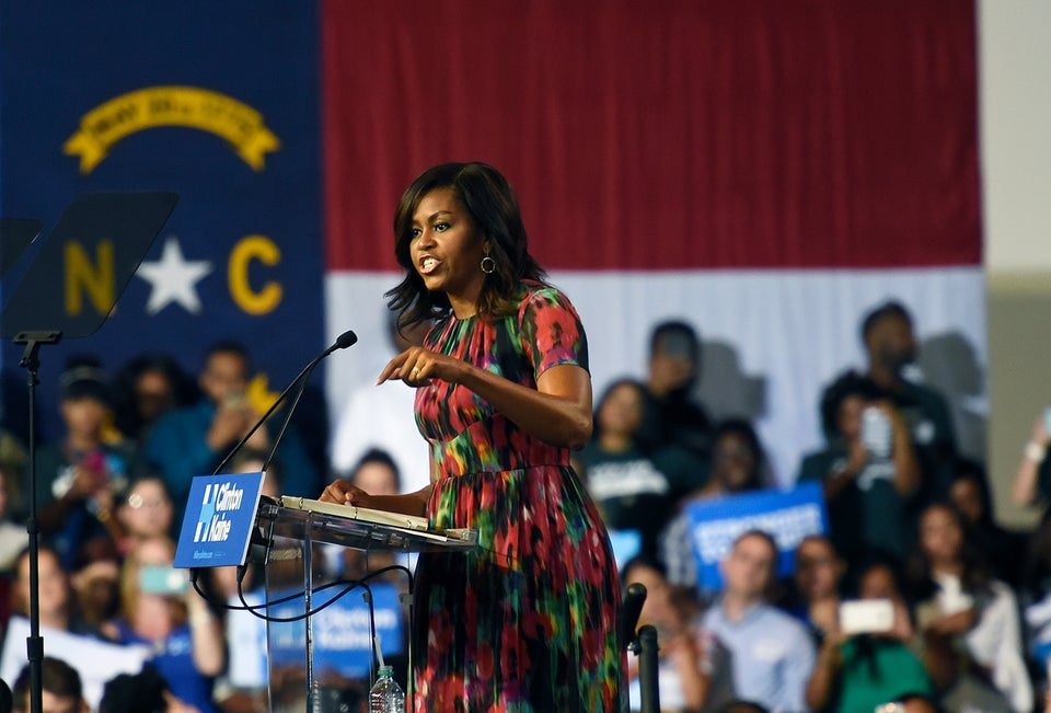 Microphone Check: Michelle Obama Serves Major Shade, Taps Mic While Discussing Trump