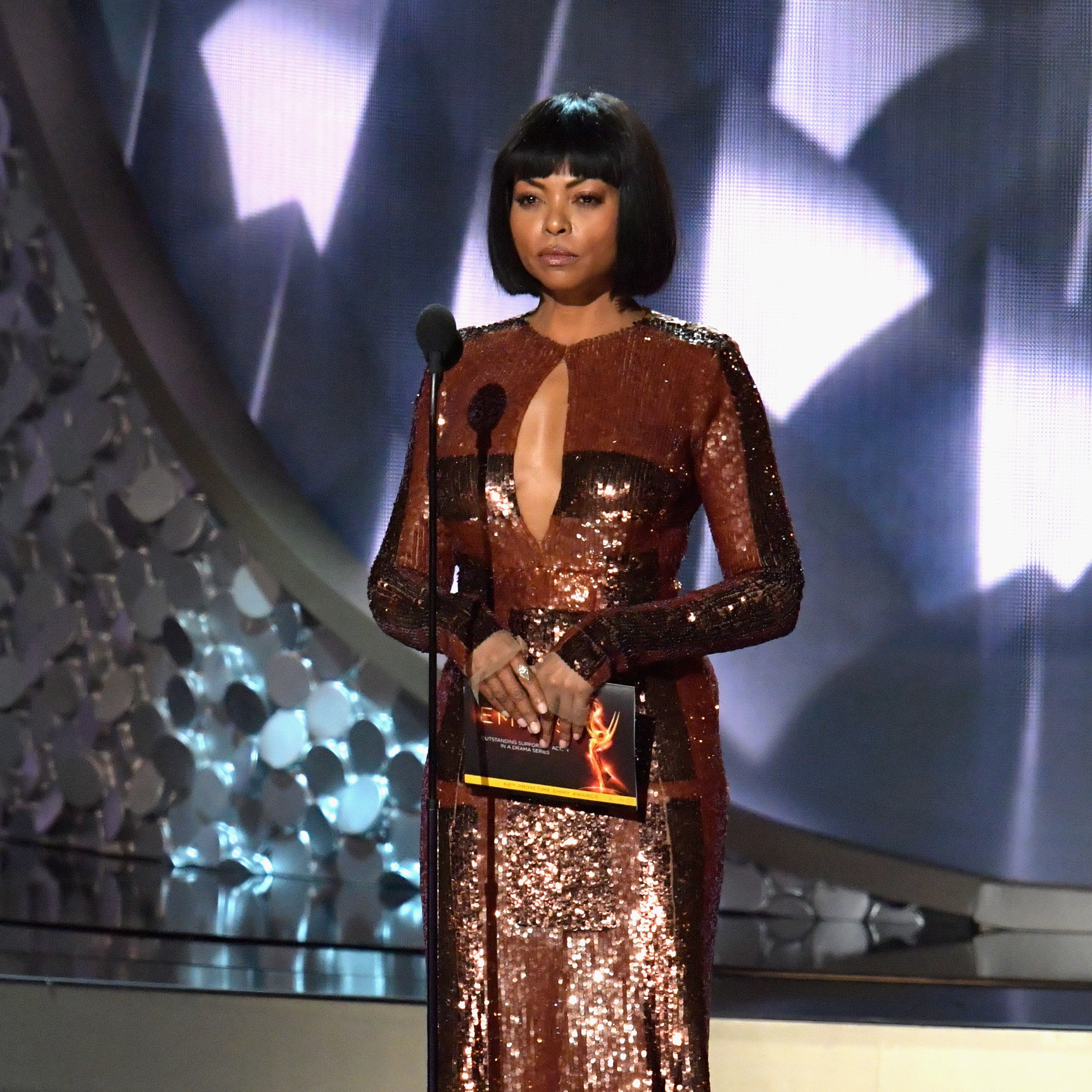 Photo Fab! Take A Look At This EXCLUSIVE Taraji P. Henson BTS Look From 'Empire'