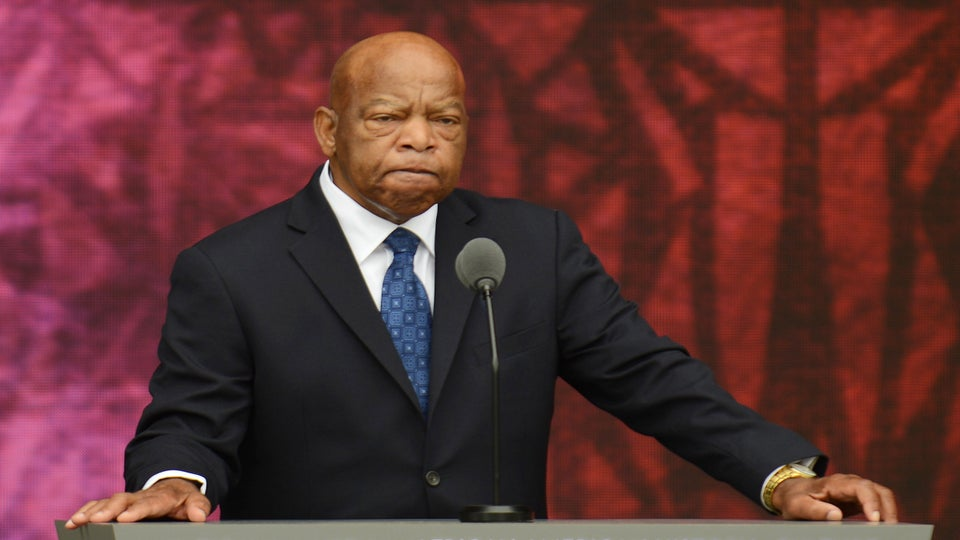 Civil Rights Leader John Lewis Urges Young People To Vote And Get In 'Good Trouble'