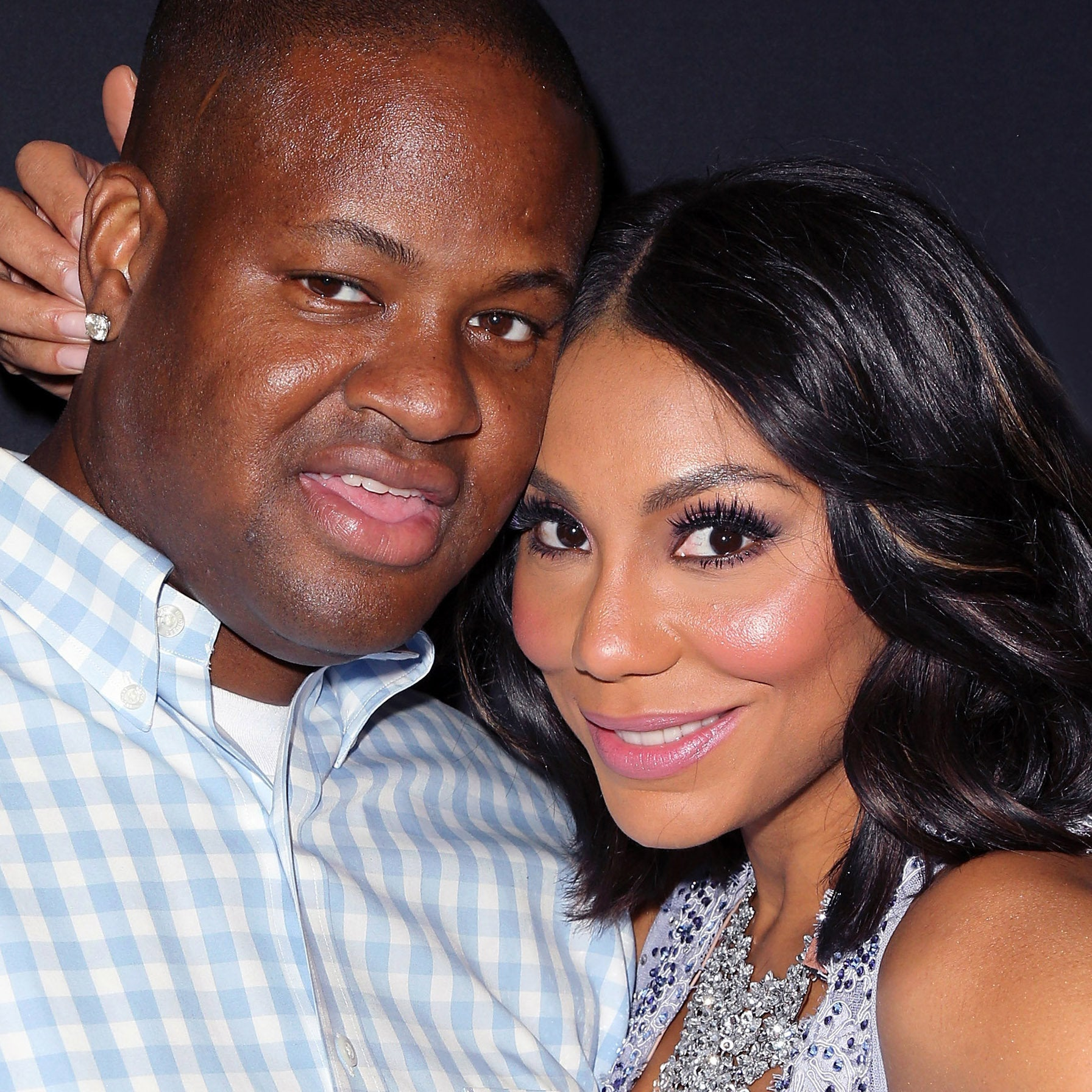 Tamar Braxton and Husband Vince Herbert Get Cozy At Bad Boy Reunion Tour, Put Breakup Rumors to Rest
