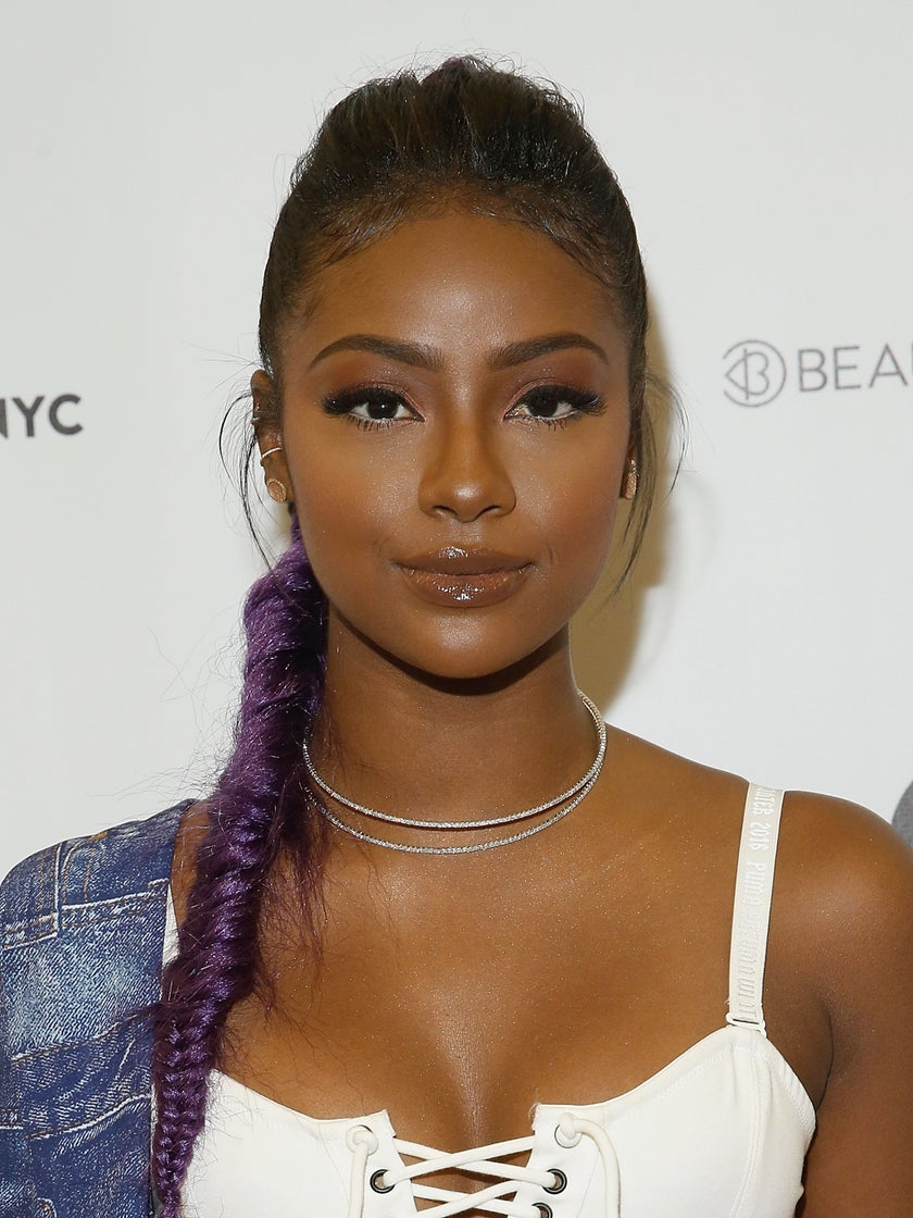 Justine Skye Tells Us The One Lipstick Shade She Can't Stop Wearing