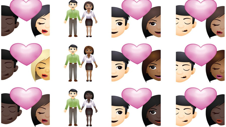 Interracial Couple Emojis Are Finally Here