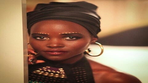 Here's How Lupita Nyong'o's Makeup Artist Created Her Stunning 'Africa-Inspired' Makeup Look