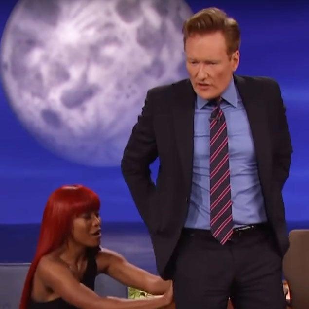 Watch Keke Palmer Teach Conan O'Brien How To Move Them Cheeks