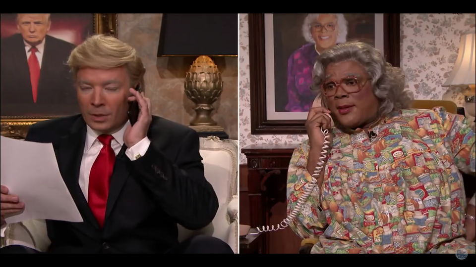 LOL! Donald Trump Calls Madea and She Reminds Him She's 'Woke'