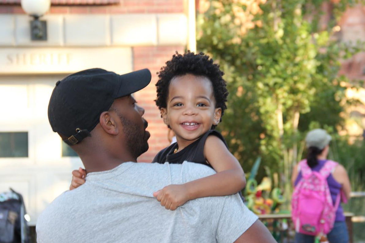 Kelly Rowland And Husband Tim Witherspoon Take Son Titan