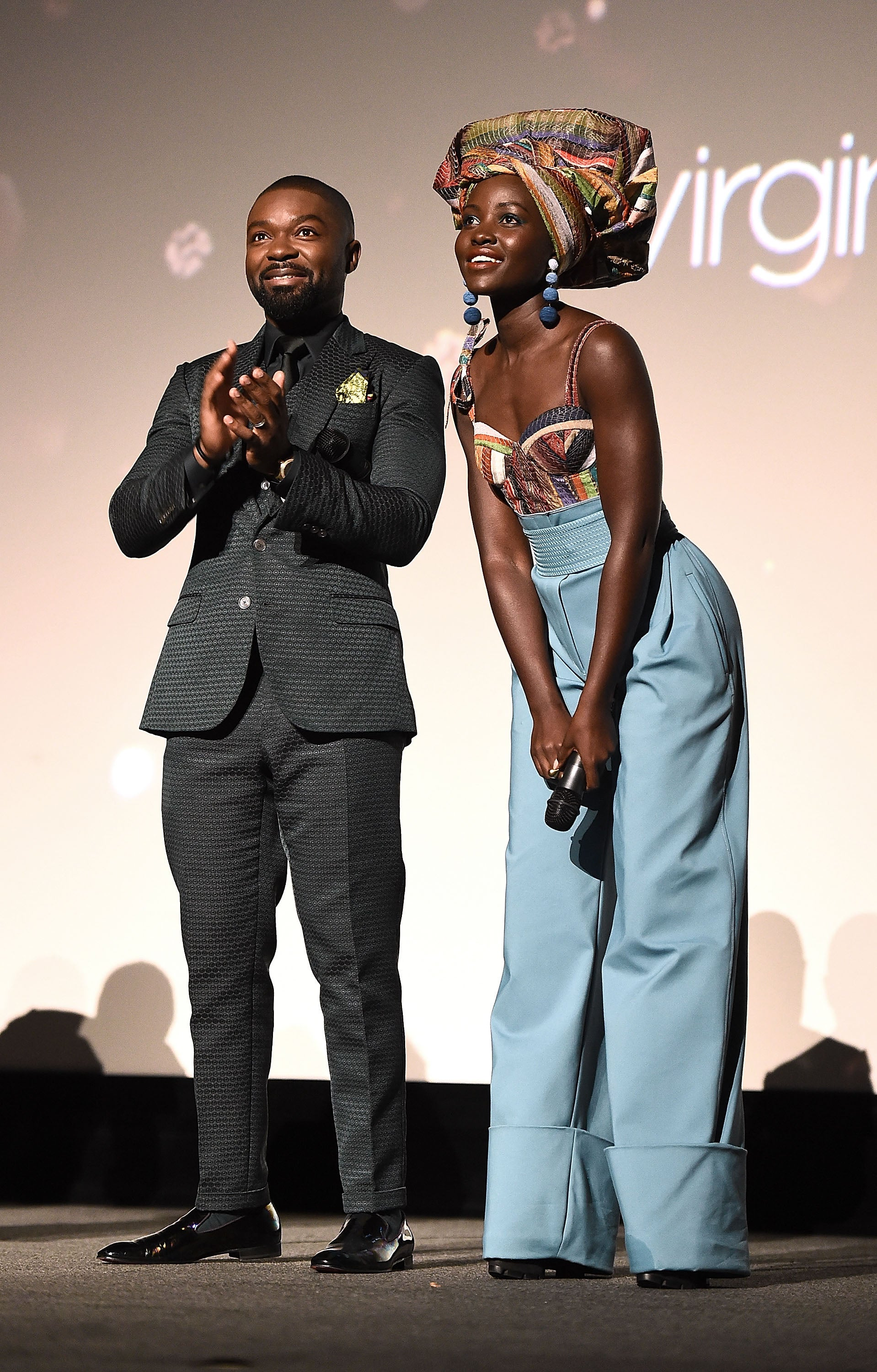 Celebs Celebrate 'Queen of Katwe' at the BFI London Film Festival