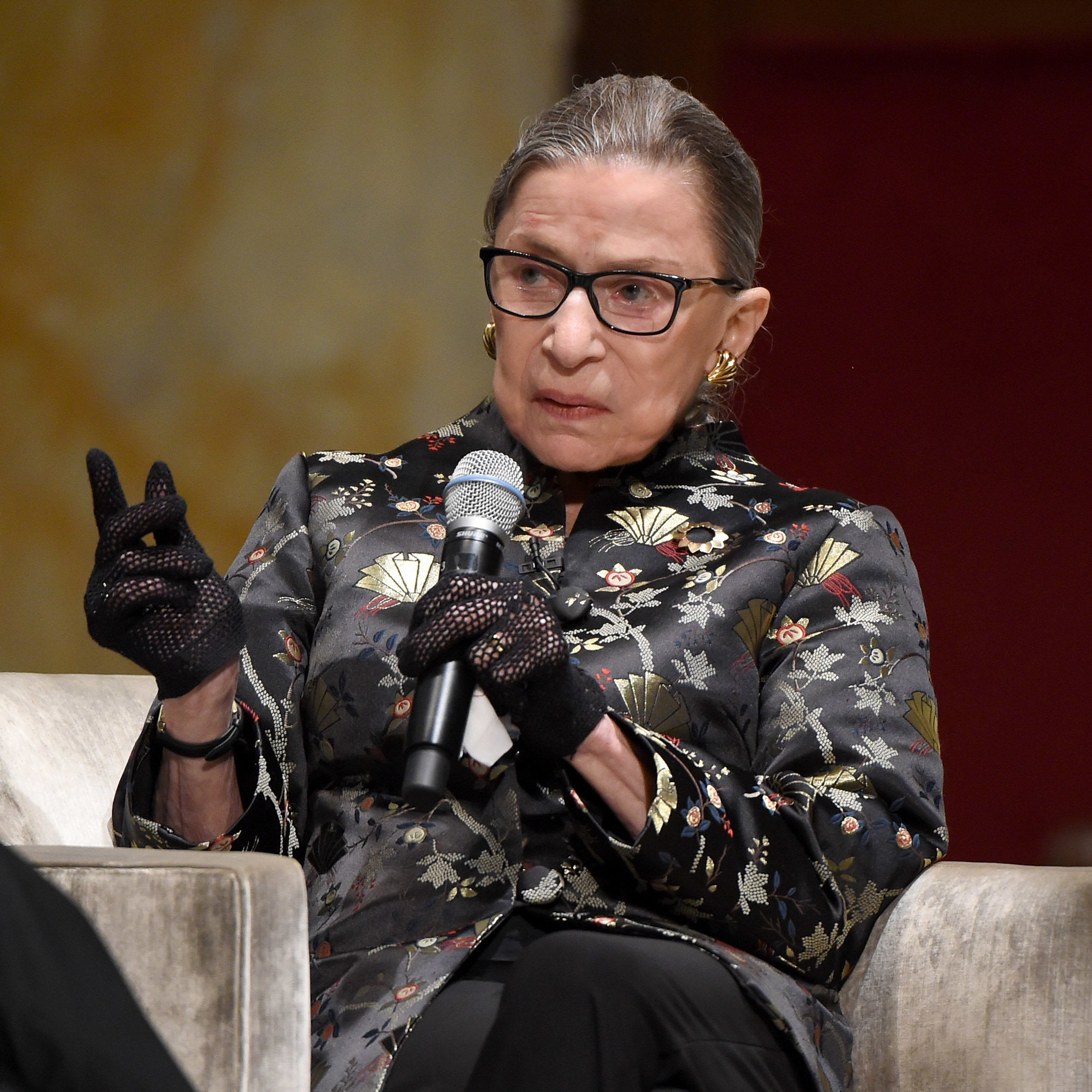 Supreme Court Justice Ruth Bader Ginsburg Hospitalized With Three Fractured Ribs