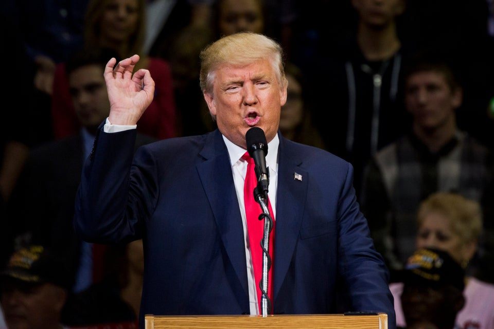 With 'Shackles' Off, Trump Goes After Republican Foes