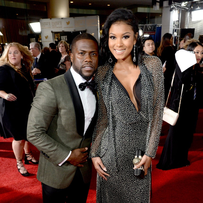 Kevin & Eniko Hart's Best Red Carpet Moments