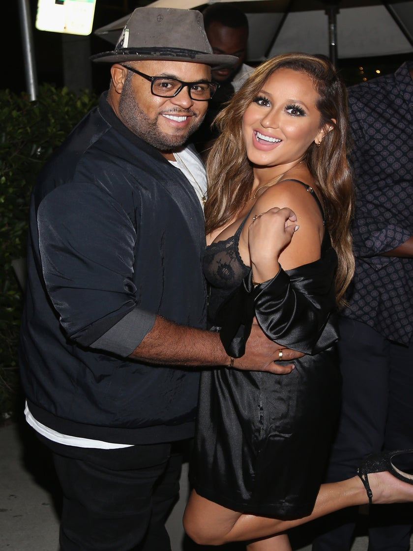 Adrienne Bailon And Fiancé Israel Houghton's Co-Ed Wedding Shower Was Oh So Sweet