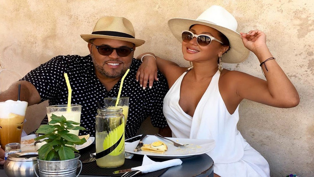 Adrienne Bailon And Israel Houghton Are Married!