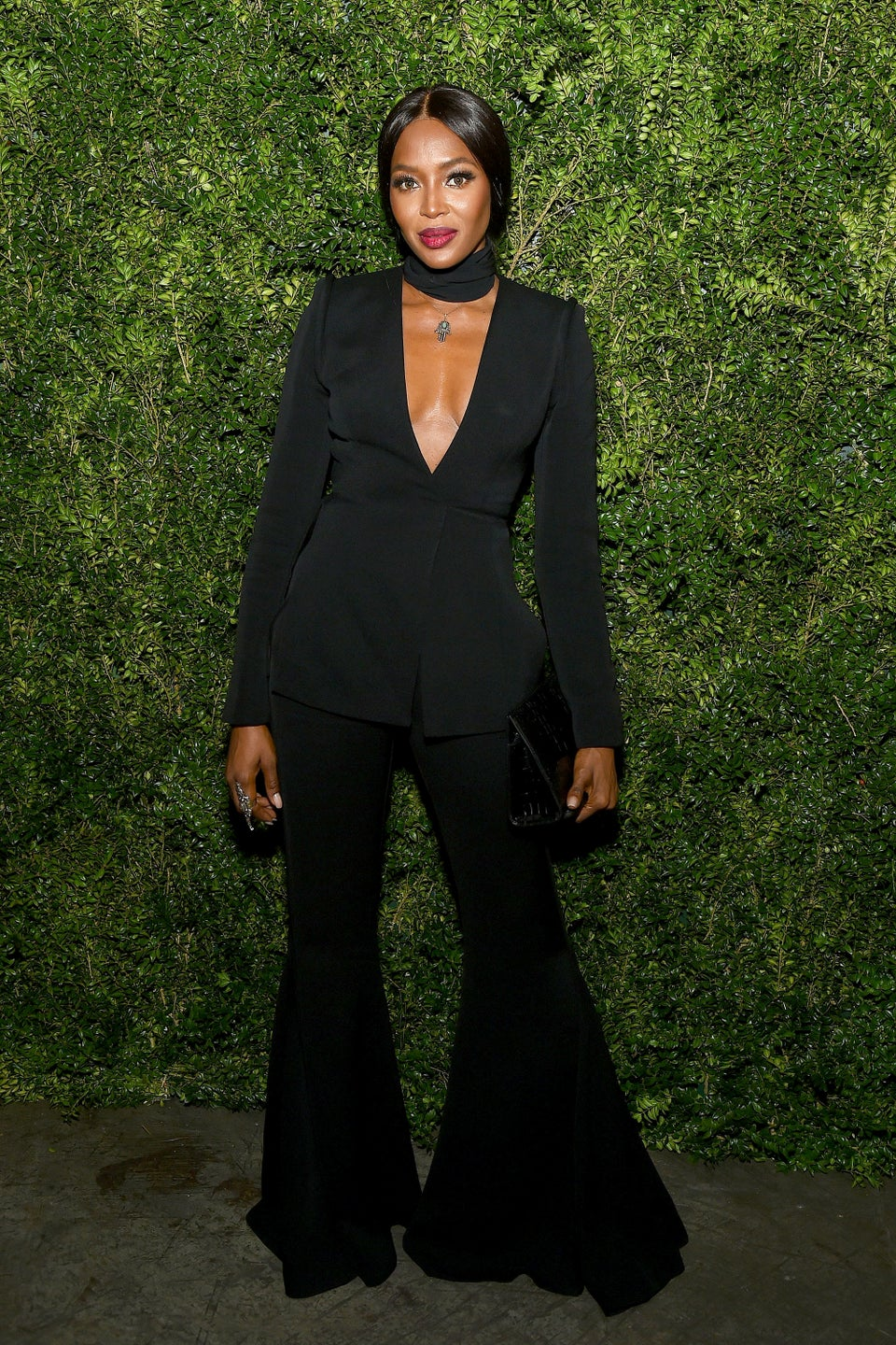 Look of the Day: Naomi Campbell is a Stunner Per Usual in All Black
