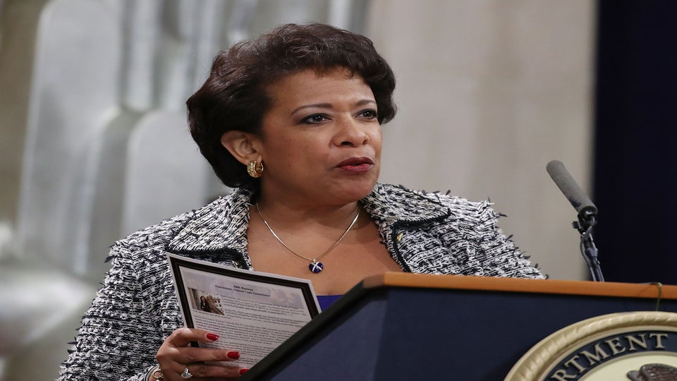 Loretta Lynch Encourages Americans To Continue Reporting Hate Crimes