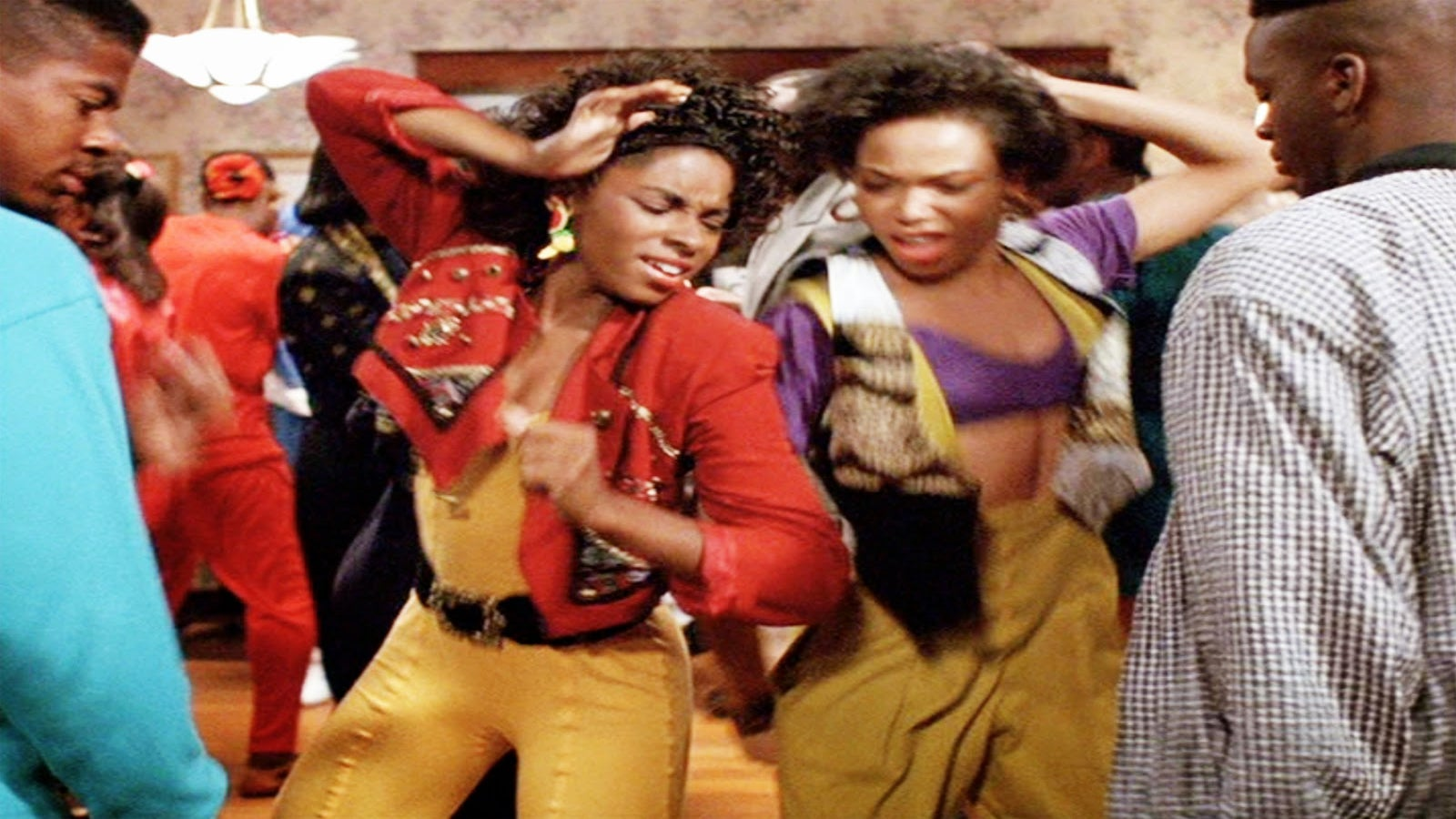 AJ Johnson & Tisha Campbell Recreating Their Iconic 'House Party' Dance Scene Is An Epic Flashback Moment