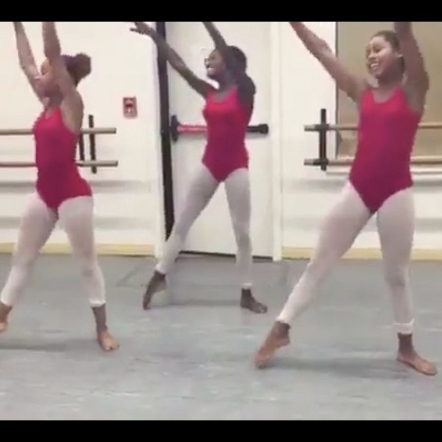 What Happens When Black Ballerinas Take On The 'JuJu On That Beat' Dance Challenge? Magic, Of Course
