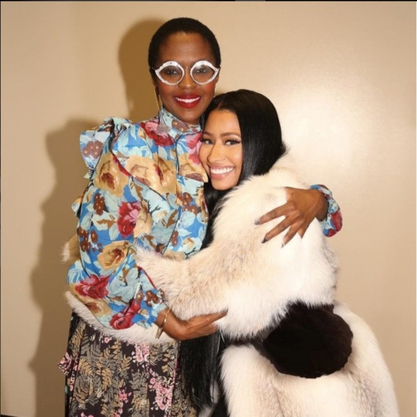 #BlackGirlMagic! Nicki Minaj Meets Lauryn Hill and Literally Bows Down