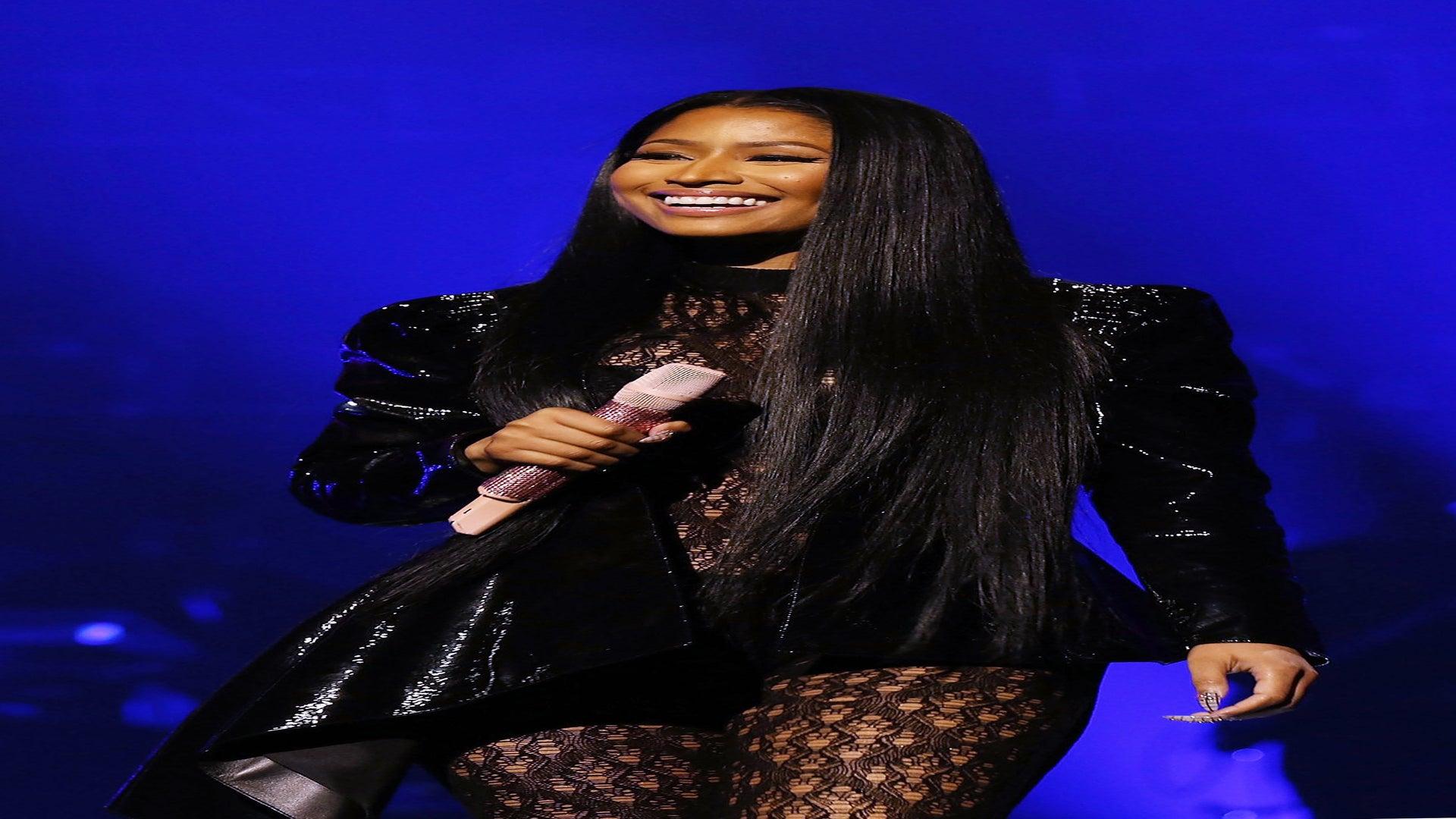 Nicki Minaj Praises Hillary Clinton And Shuts Down Melania Trump During TIDAL Performance