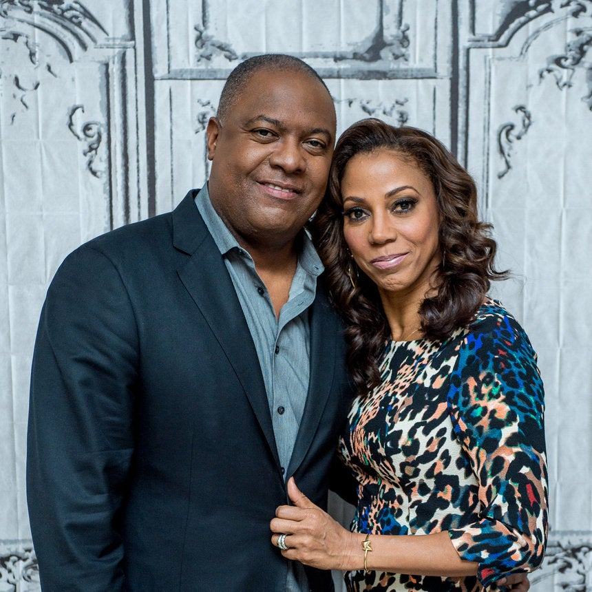 Why Holly Robinson Peete's Husband Rodney Feels Like The Luckiest Guy In the World