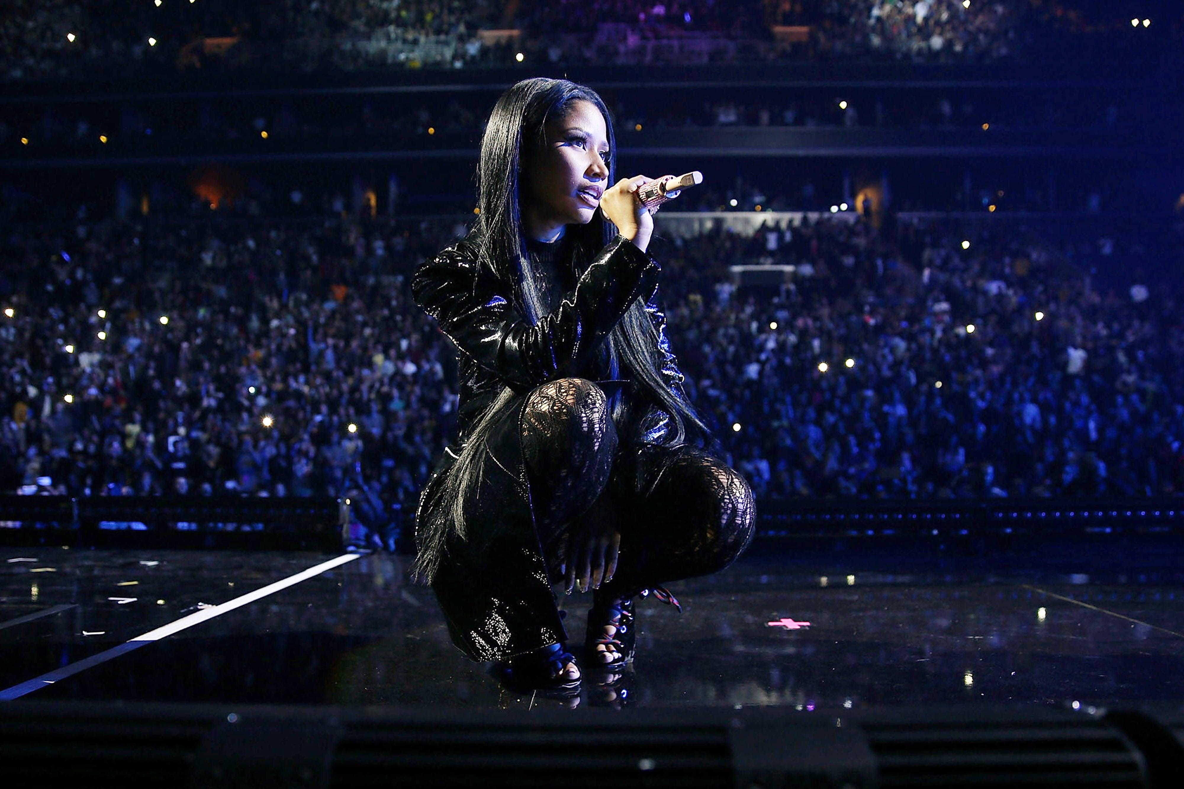 Nicki Minaj Says She Didn't Mean to Slam Donald Trump's Wife Melania in Rap: 'She Seems Nice'