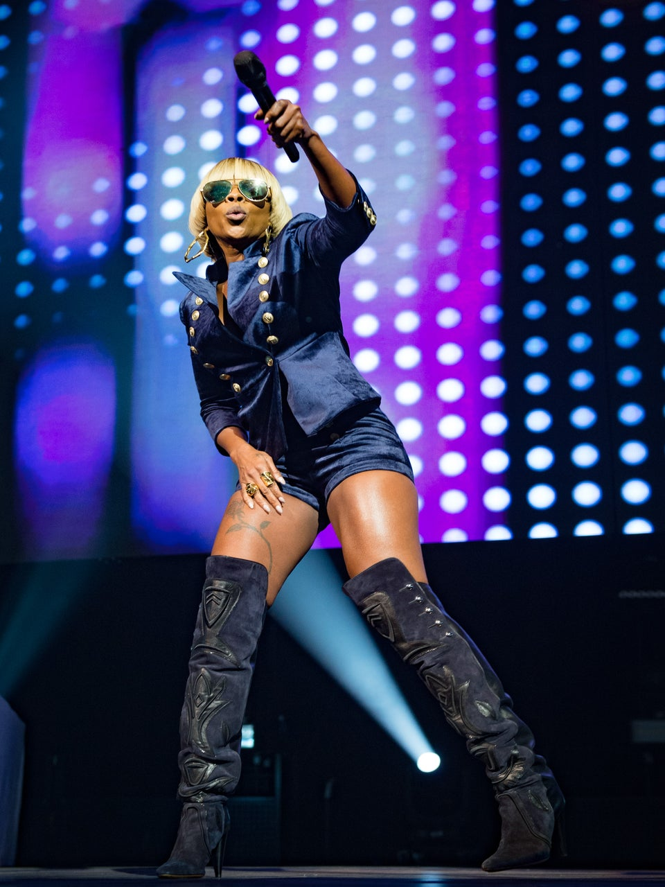 Mary J. Blige's On People Imitating Her Iconic Dance Moves And Her Breakout Role In 'Mudbound'