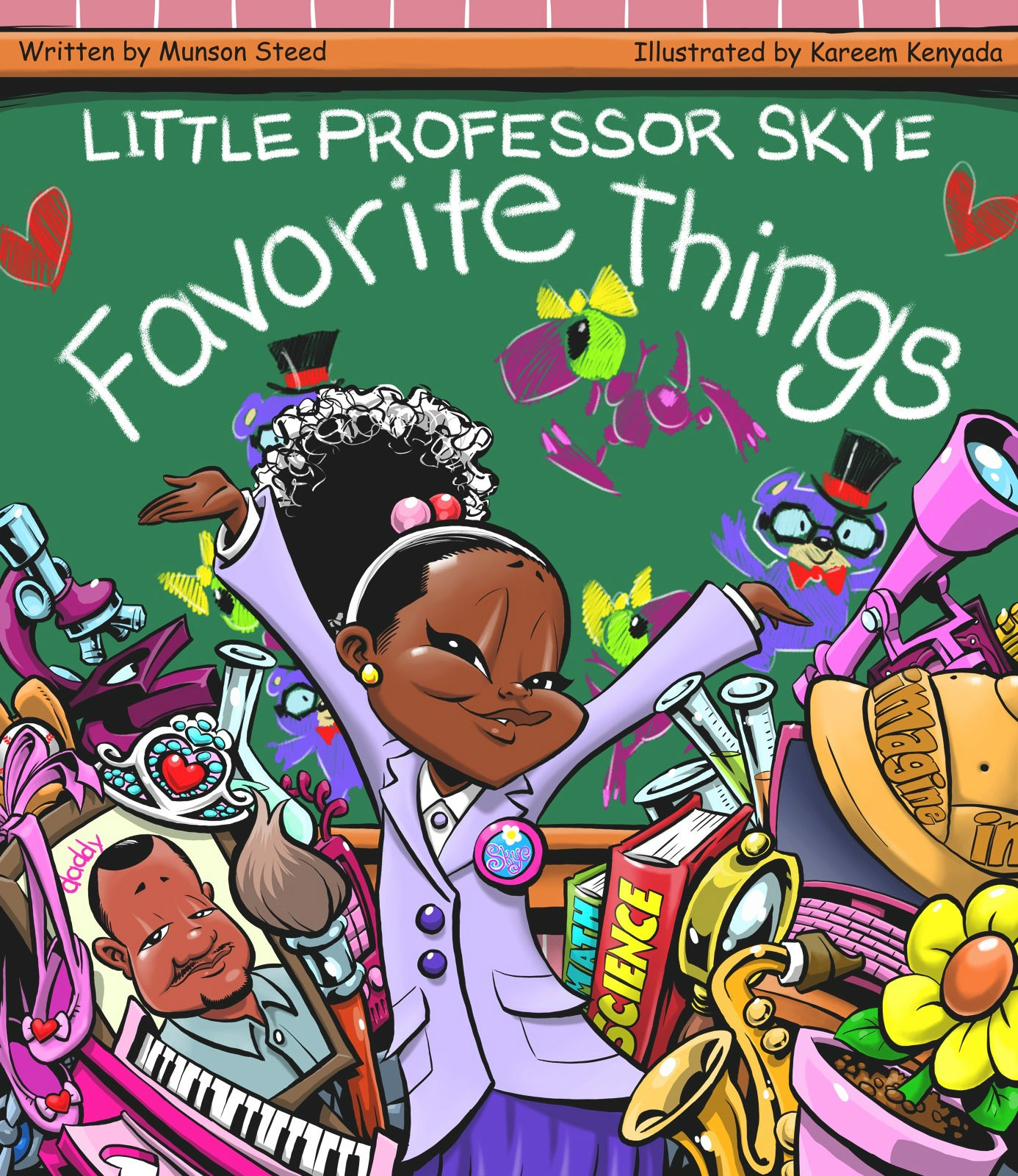 'Little Professor Skye' Book Series Depicts Young Black Girls As Doctors, Scientists And More
