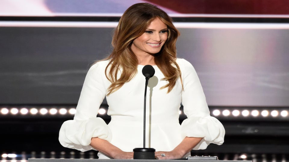 Melania Trump Says Donald's Comments in Leaked Video Were 'Boy Talk'