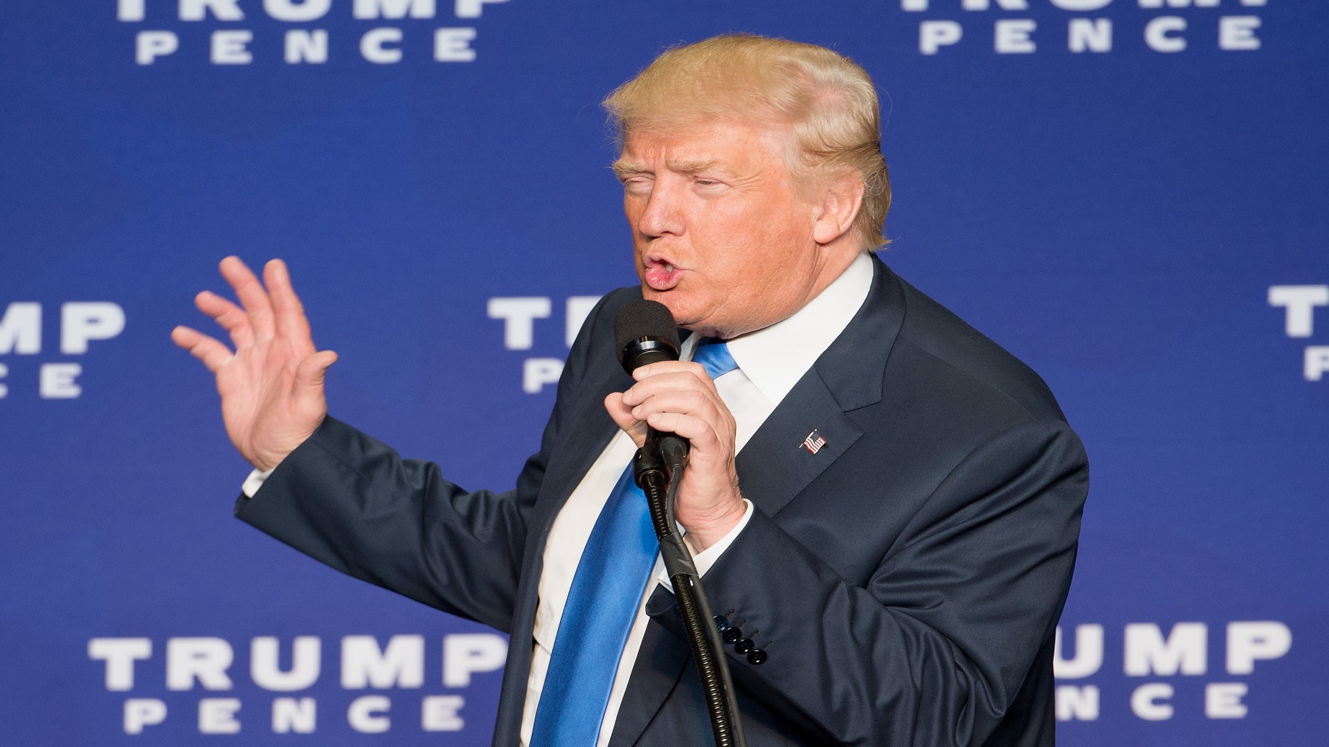 Donald Trump Beefs Up 'Rigged Election' Talk As He Slips At The Polls