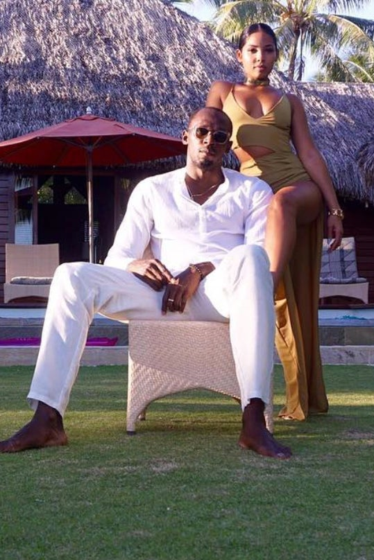 Usain Bolt And Girlfriend Kasi Bennett Turn Up Together At The Club and It's Really Cute