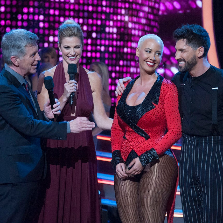 Amber Rose Leaves DWTS Rehearsal in Tears After Arguing with Maks Chmerkovskiy — and Takes a Last Twirl
